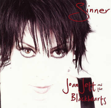 Joan Jett and the Blackhearts - Sinner LP (Clear Vinyl)