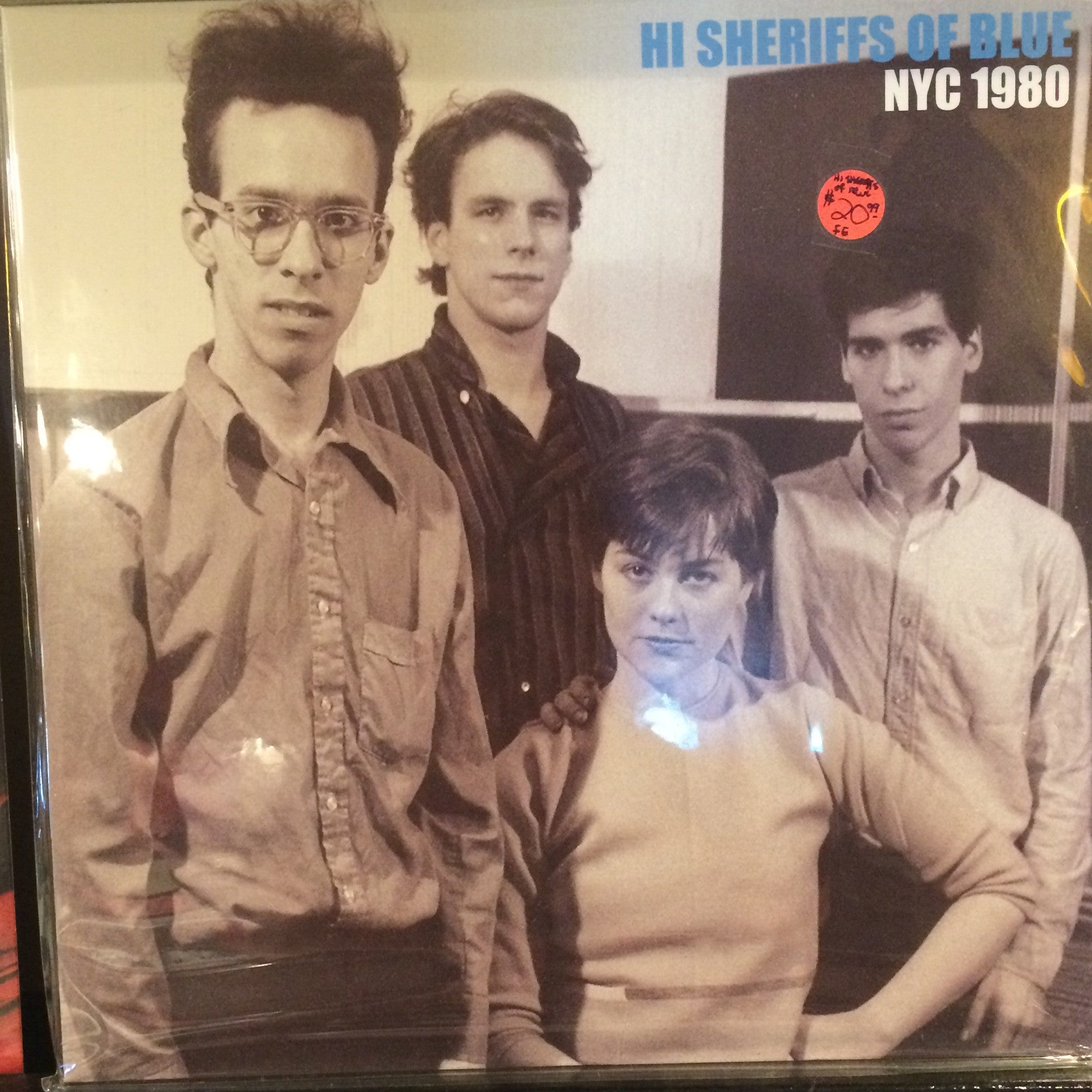 Hi Sheriffs Of Blue - NYC 1980 LP