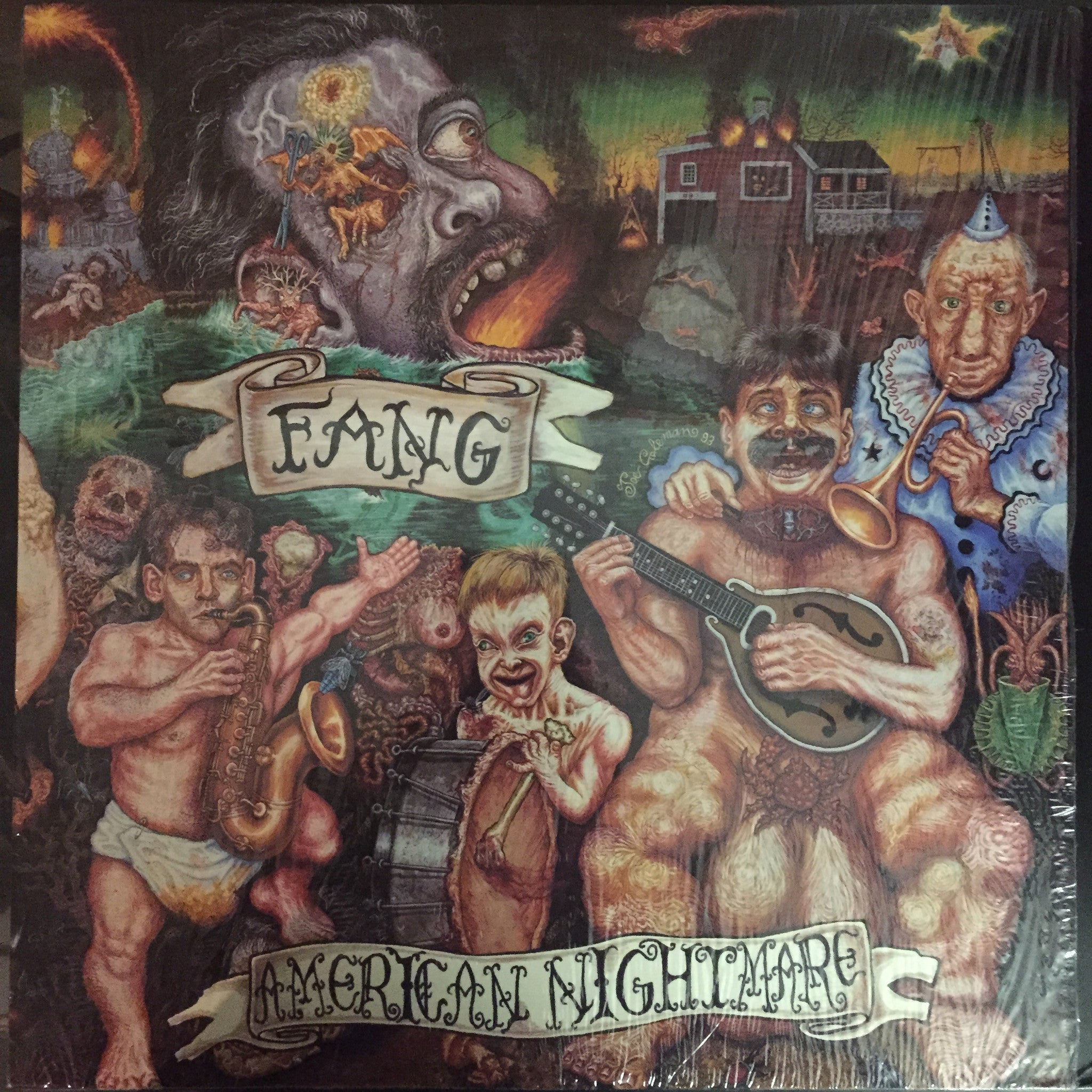 Fang - American Nightmare LP (New and Sealed - WR1380-1)
