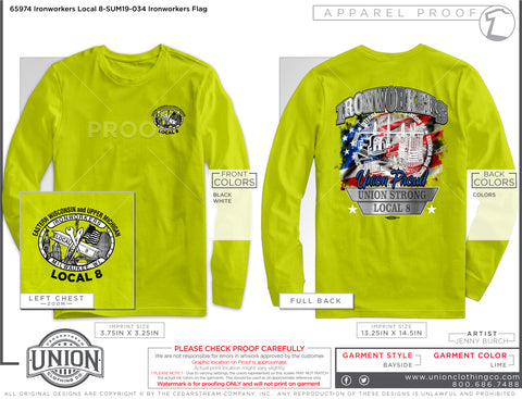 Long Sleeve T-Shirt - Union Proud