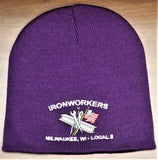 Iron Workers Local 8 Beanie