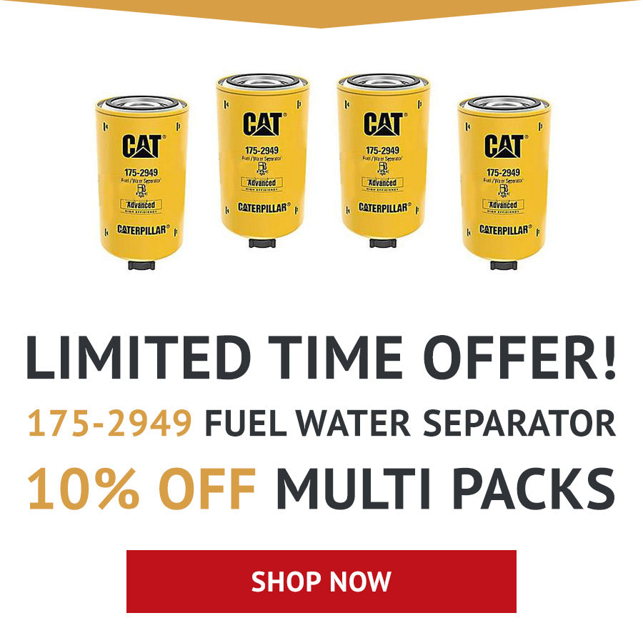 175 2949 Caterpillar Fuel Water Separator Cross Reference Alliance Filter It Does Work With Fass As A But Not Sure If Air Dogs Take The Same Thread Style And Such
