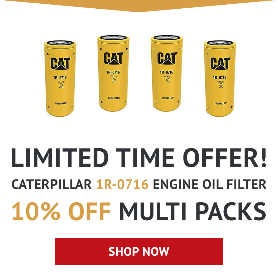 1R-0716 Caterpillar Engine Oil Filter - Cross Reference