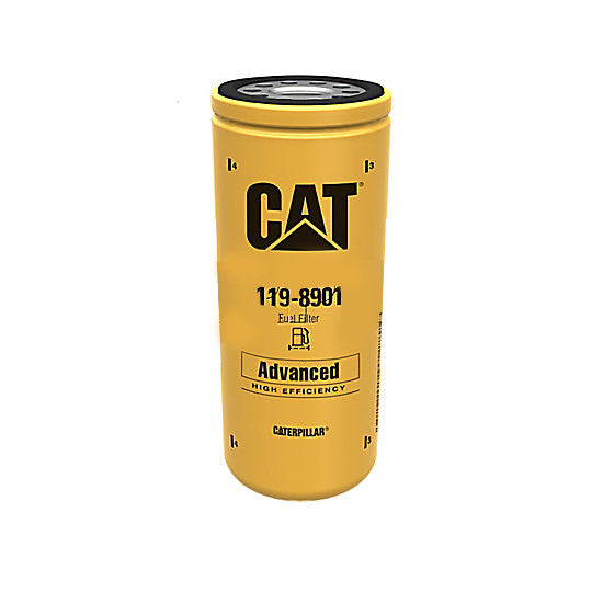 Caterpillar 119-8901 1198901 Fuel Filter Advanced High Efficiency