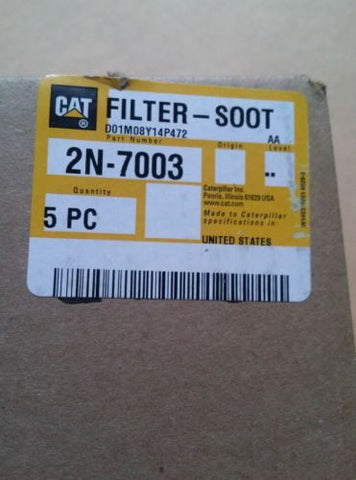 2N-7003 - CAT FILTER-SOOT (Case of 5)