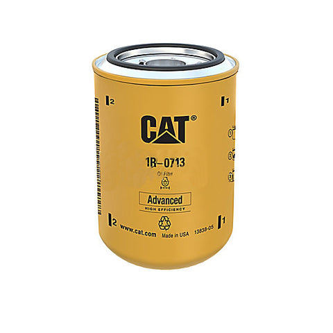 Caterpillar 1R-0713 1R0713 Engine Oil Filter Advanced High Efficiency