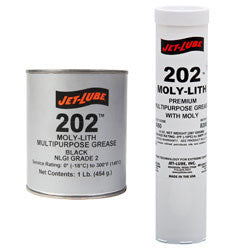 Jet-Lube #202 MOLY-LITH Cartridge - Pack of 30