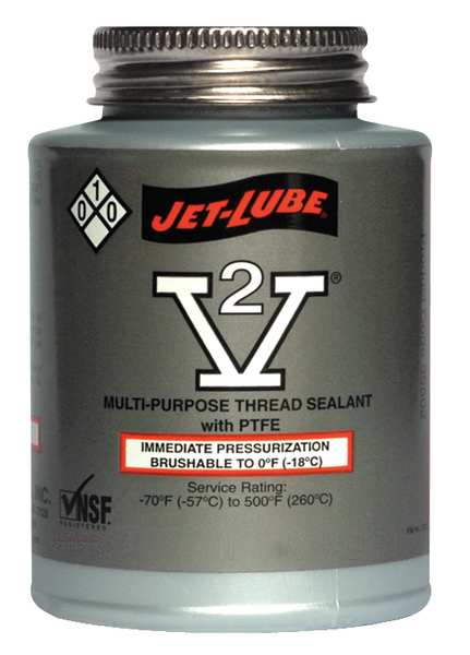 35555 - JET-LUBE V-2 1/4 pt. brush top