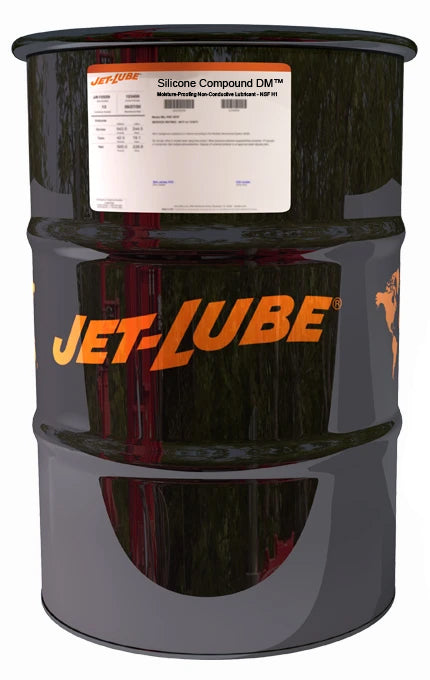73524 - JET-LUBE SILICONE COMPOUND DM 15 gal drum