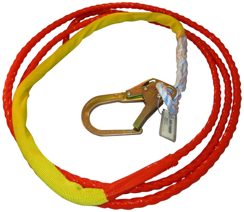 IndustrialHD Tangle Free Guiding Tagline Redtail Coated w/ Snaphook