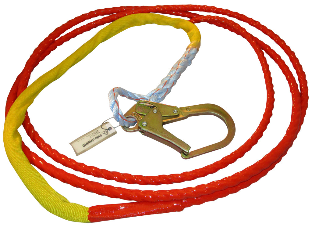 Industrial HD Tangle Free Guiding Tagline Redtail Coated w/ Snaphook