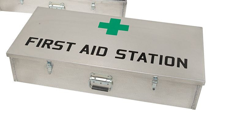 JSA-705 DUST TIGHT MINE First Aid Case Aluminum