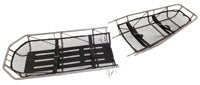 Junkin Safety MIL-0452-W Military Type III S.S. Basket Stretcher Break-Apart Without Leg Divider
