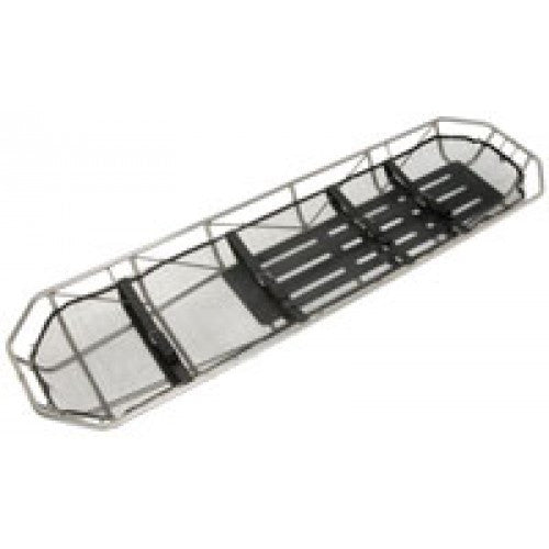 Junkin Safety MIL-4784 Military Type II S.S. Basket Stretcher With Aluminum Slats  (Not Plastisol Coated)