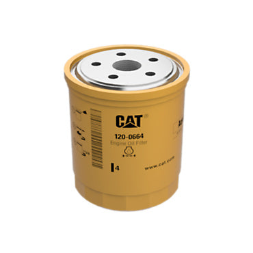 Caterpillar 120-0664 1200664 Engine Oil Filter Advanced High Efficiency