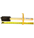 "IHDB-1 - Straight Trim Heavy-Duty Thread Compound Dope Brush  2-1/2"" W/ Guard 16"" LG Handle"