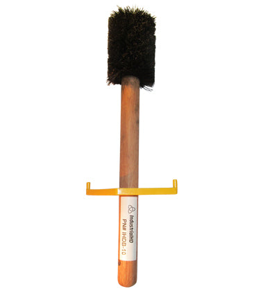 "IHDB-10 - Straight Trim Heavy Duty Thread Compound Dope Brush 2-7/8"" w/ Guard 16"" LG Handle"