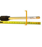 "IHDB-4 - Tapered Trim on Both Ends Heavy-Duty Thread Compound Dope Brush 2"" W/ Guard 16"" SM Handle"