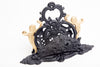 Ornate Antique Cast Iron Letter/Mail Holder