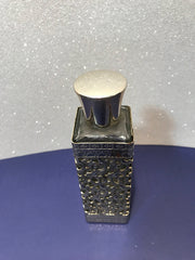 Vintage Filigree Vanity Dresser Perfume Bottle Retro