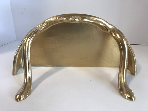 Ornate  Wall Shelf Table Gold Wall Hanging by Burwood Prod.Co Vintage