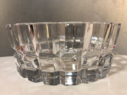 "Vintage Art Crystal by Orrefors Thick Crystal Brilliance Made in Sweden Signed 7 3/4""x 3"""