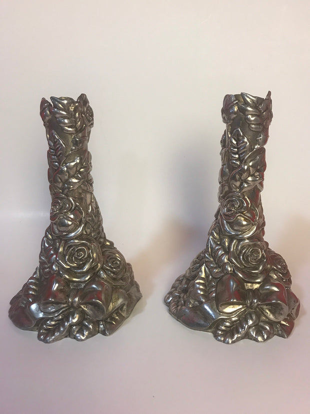 Roses Heavy Metal CandleSticks