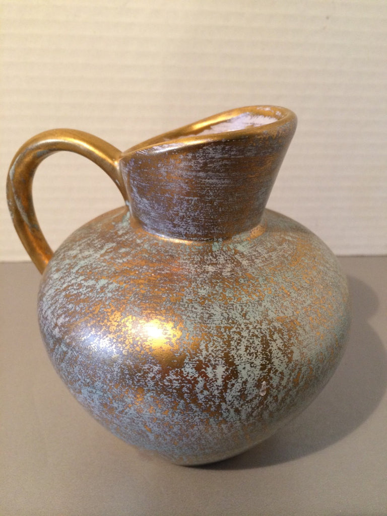 Stangl Antique Gold Jug w/Handle Small
