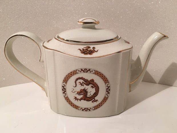 Dragon Teapot by Arthur Wood Porclain Vintage England SALE