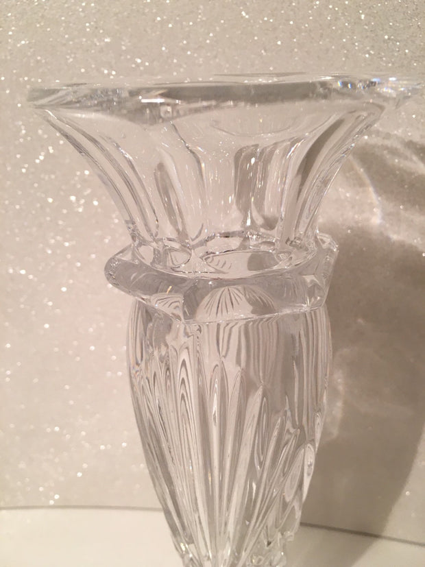 Vintage Gorham Crystal  Bud Vase Flower Centerpiece West Germany Small Bouquet