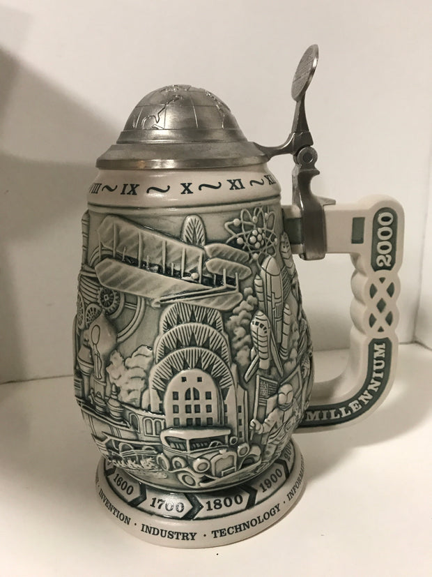 Millennium Collector's Stein by, Avon 1000 years of History New in Original Box