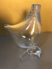 Copy of Kosta Vicke Lindstrand Bird Decanter 1950s Vintage