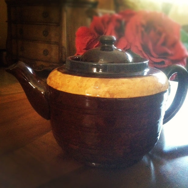 Stoneware Teapot, Made in England