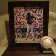 Darryl Strawberry, signed photo and ball