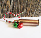 Hunting Ornament Bullet Ornament Hunter Christmas Ornament Handmade Ornaments Christmas Decoration Camo Gift Men Country Ornament Rustic