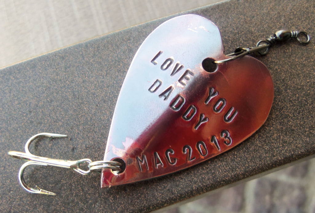 Fathers Day Husband Personalized Fathers Day Gift Dad Fishing Lure