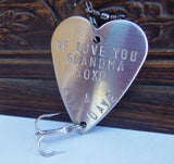 Personalized Gift Grandma Gift to Mom Mother's Day for Grandmother Nona Gift Idea Nana from Grandkids to Grammy Fishing Lure Outdoors Mum