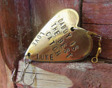 Personalized Gift for Dad Father's Day Daddy Personalized Birthday Gift Husband Fishing Lure Personalized for Him Her Best Dad in the World
