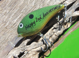 Happy Anniversary - 2nd Wedding Anniversary - Gift for Husband - Personalized Lures Him - Fisherman Boyfriend - Fishing - Fishing Hook - Men