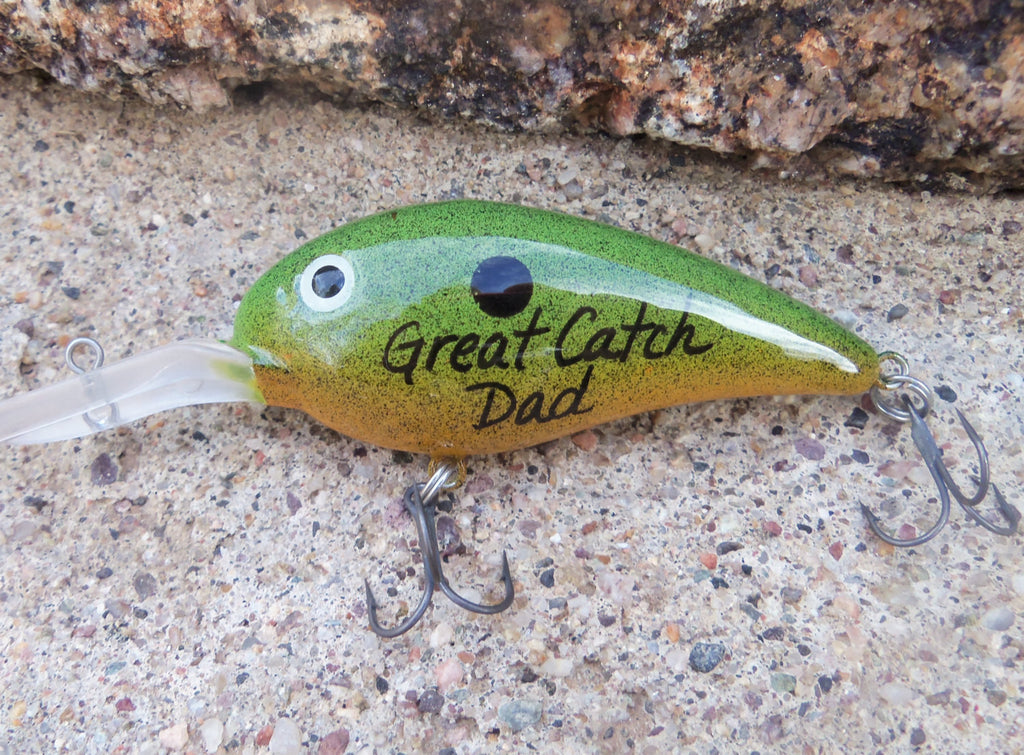 c064015ffa7b Grandpa Gifts Great Catch Dad For Him Gift for Daddy Personalized Fish – C  and T Custom Lures