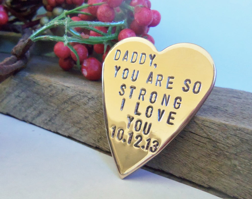 In Memory of Daddy Memorial Gift Dad In Loving Memory Father Personalized Memorial Jewelry Loss of Loved One Surgery Sympathy Recovery Men