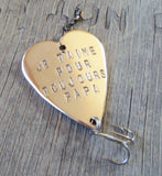 Valentine's Day Je T'aime Gift French for I Love You Forever Je taime Pour Toujours Fishing Lure Papa Grandpa Grandfather Anniversary Mens