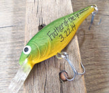 Grooms Father Brides Father Dad of Groom Daddy of Bride In Laws Wedding Gift Handwritten Fishing Lure Grooms man Grandpa Uncle Brother Men