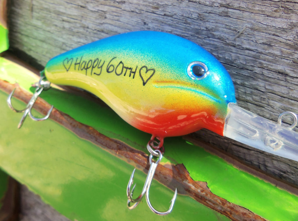 Happy 60th Birthday Gift For Dad Cousin Grandpa Boss Retirement Husban C And T Custom Lures