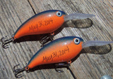 Father of the Groom and Bride - Personalized Crankbait Lure