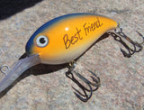 Personalized Best Friend Gifts for Male BFF Custom Fishing Lures Hooked on Him Birthday Chicago Bears Fanatic NFL Football Birthday for Men