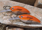 Always and Forever His and Her Keychain Couples Mr Mrs Personalized Fishing Lure Boyfriend Girlfriend University of Texas Longhorns Husband