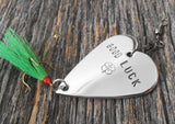Lucky Fishing Lure Good Luck Gift Irish Guy Gifts Graduation Boyfriend St. Patricks Day Ireland Dad Husband Anniversary Irish Wedding Favor