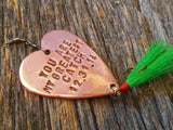 Valentine Gift for Men Valentine Idea for Husband Fishing Lure Personalized Valentines Day Gift Boyfriend Father's Day Dad Fisherman Daddy