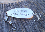 Brother of the Bride Gift for Brother of the Groom Gift for Brother in Law Gift Idea Step Brother Wedding Gifts Wedding Party Fishing Lure